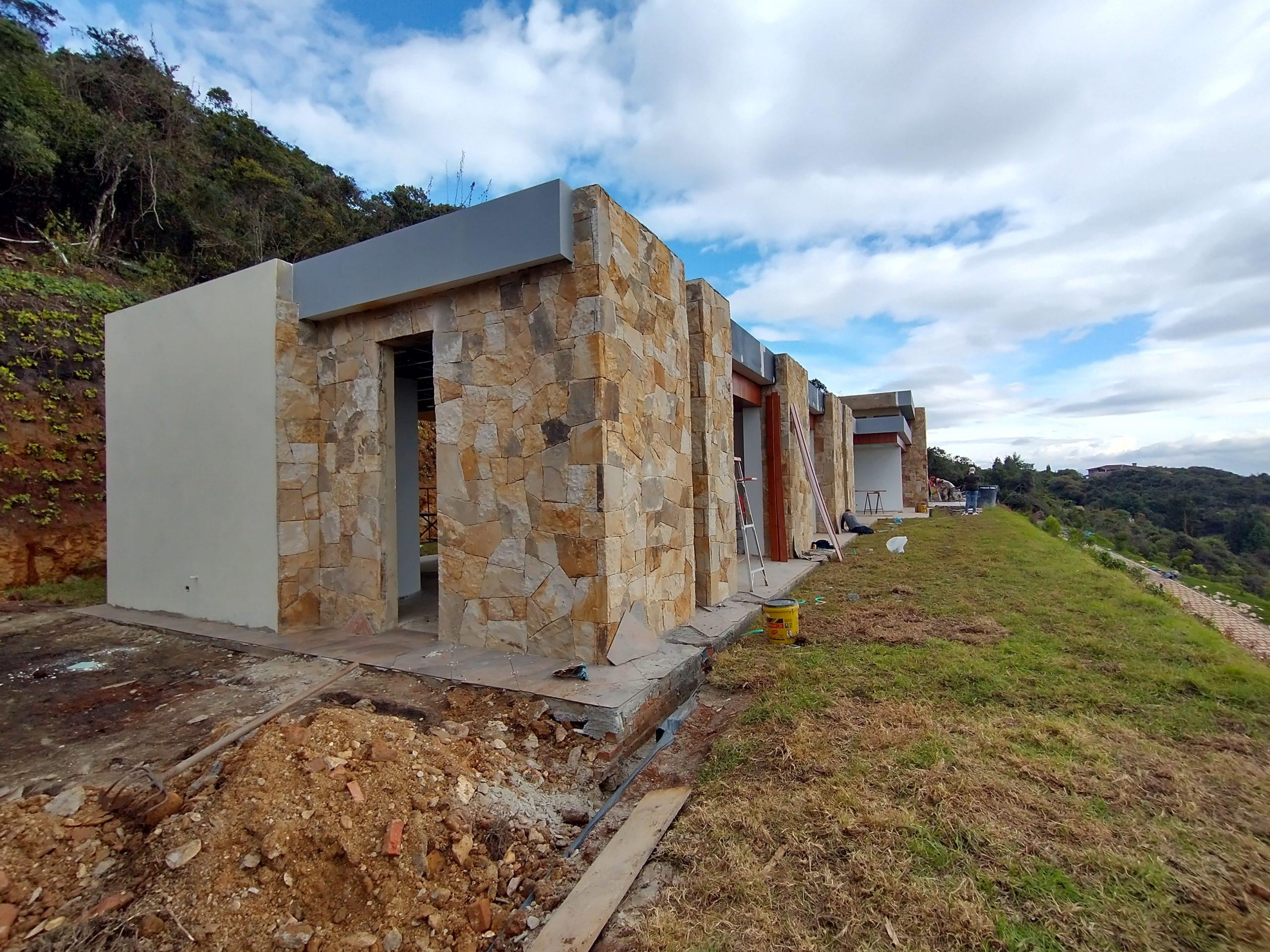 Casa campestre moderna